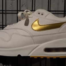 Nike Air Max 90/1 'Metallic Gold'