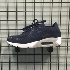Nike Air Max 90 Ultra 2.0 Flyknit 'College Navy'