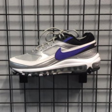 Nike Air Max 97/BW - Metallic Silver & Persian Violet