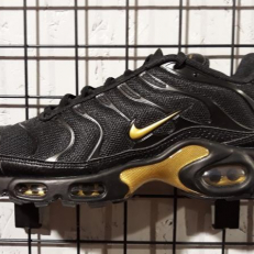 Nike Air Max Plus 'Black Metallic Gold'