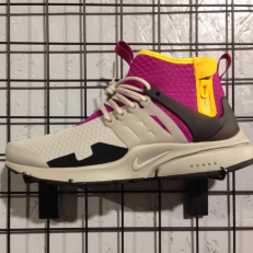 Nike Air Presto Mid SP - Granite/ Granite - Rave - Pink - Pro Gold