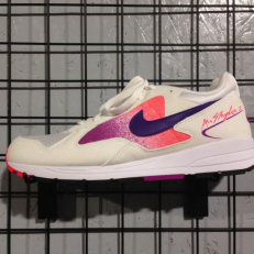 Nike Air Skylon II - White/ Court Pourple - Solar Red