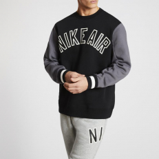 Nike Air Variasity Crew Sweat-Black