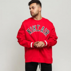 Nike Air Variasity Crew Sweat-University Red