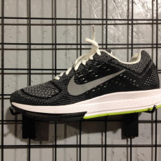 Nike Air Zoom Structure 18 - White/ Black/ Volt/ Reflective Silver