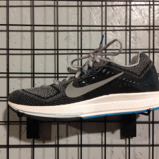 Nike Air Zoom Structure 18 - Wolf Grey/ Metallic Silver - Blue Lagoon - Black