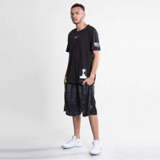 Nike Basketball Dri-Fit T-Shirt - Black/ Black