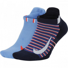 Nike Court Multiplier Max Tennis No Show 2 Pair Socks - Multi Color
