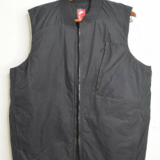 Nike Down Fill Quilted Bomber Vest - Black