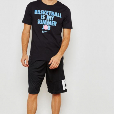 Nike Dri-Fit Basketball T-Shirt - Black