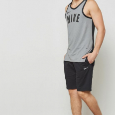 Nike Dri-Fit Hyper Elite Tank - Atmosphere Grey/ Black