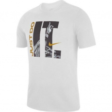Nike Dri-Fit Just Do It Print T-Shirt - White