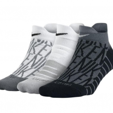 Nike Dry Cushion Low GFX Training Socks (3 pár)
