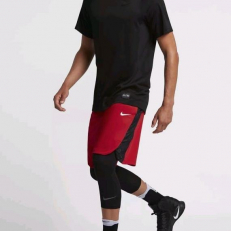 Nike Elite Dri-Fit Basketball Short - University Red/ Black
