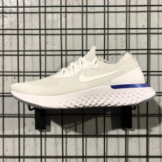 Nike Epic React Flyknit White/Racer Blue