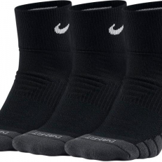 Nike Everyday Max Cushioned Training Ankle 3 Pair Socks - Black/ Anthracite/ White