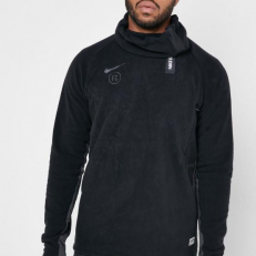 Nike F.C. Football Drill Top - Black/ Anthracite/ Anthracite