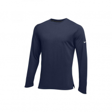 Nike Hyperelite Long-Sleeve Top - Navy/ White