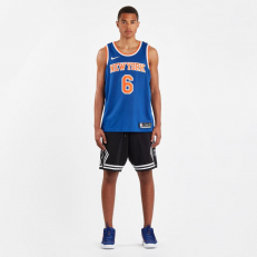 Nike Icon Edition Swingman Jersey - Kristaps Porzingis New York Knicks - Rush Blue