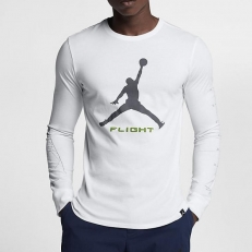 Nike Jordan Long Sleeve Top With Arm Print