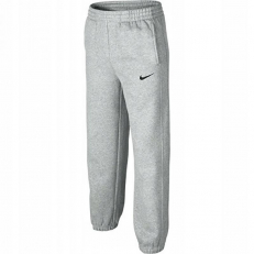 Nike Junior Unisex Fleece Sweat Pants - Grey Heather