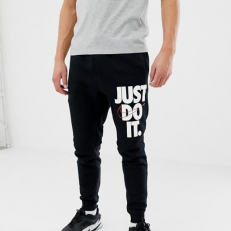 Nike Just Do It Logo Skinny Jogger - Black
