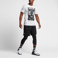 Nike Lion LeBron Dri-Fit T-Shirt - White