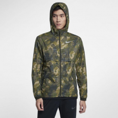 Nike M Shield Ghost Flash Running Jacket - Sequoia/ Sequoia