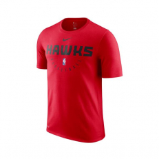 Nike NBA Atlanta Hawks Logo Dri-Fit T-Shirt - University Red