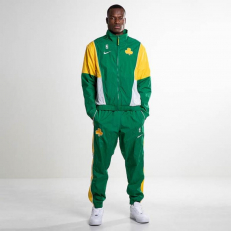 Nike NBA Boston Celtics Tracksuit - Clover/ Amarillo - White - White