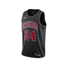 Nike NBA Chicago Bulls Lauri Markkanen Statement Edition Swingman - Black