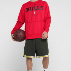 Nike NBA Chicago Bulls Spotlight Hoodie - University Red