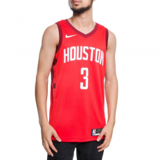 Nike NBA Chris Paul Houston Rockets Earned Edition Swingman Jersey - University Red/ Team Red