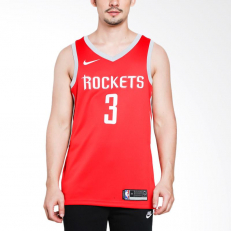Nike NBA Chris Paul Houston Rockets Icon Edition Swingman Jersey - University Red/ Flat Silver