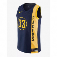 Nike NBA City Edition Swingman Jersey Myles Turner Pacers - College Navy