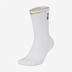 Nike NBA Elite Crew Socks - White