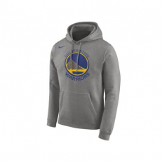 Nike NBA Golden State Warriors PO Essential Logo Hoodie - Dark Grey Heather