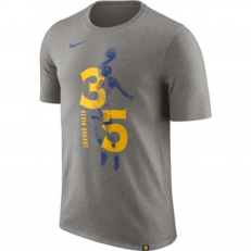 Nike NBA Golden State Warriors Kevin Durant Dri-Fit T-Shirt - Dark Grey Heather