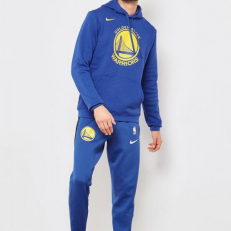 Nike NBA Golden State Warriors PO Essential Logo Hoodie - Rush Blue