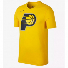 Nike NBA Indiana Pacers Logo Dri-Fit T-Shirt - Amarillo