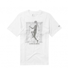 Nike NBA James Harden Rockets MVP Dri-Fit T-Shirt - White