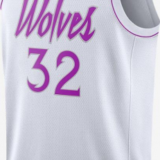 Nike NBA Karl - Anthony Towns Earned Edition Swingman Jersey - White