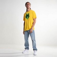 Nike NBA Milwaukee Bucks Logo Dri-Fit T-Shirt - Amarillo