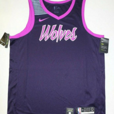 Nike NBA Minnesota Timberwolves Swingman Jersey - Purple Dynasty