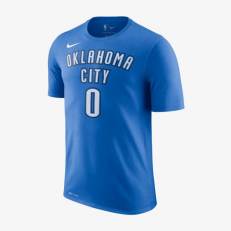 Nike NBA Oklahoma City Russell Westbook Dri-Fit T-Shirt - Signal Blue