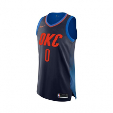 Nike NBA Russell Westbrook Oklahoma City Thunder Aunthentic Jersey
