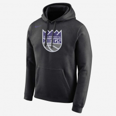 Nike NBA Sacramento Kings PO Essential Logo Hoodie - Black