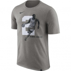 Nike NBA San Antonio Spurs Kawhi Leonard Dri-Fit T-Shirt - Dark Grey Heather
