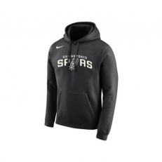 Nike NBA San Antonio Spurs PO Essential Logo Hoodie - Black/ Sail