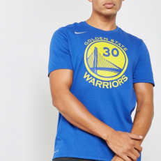 Nike NBA Stephen Curry Golden State Warriors Dri-Fit Tee - Rush Blue